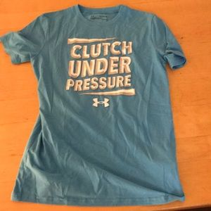 Youth under armour t shirt